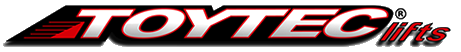 """FJBOSS25R - ToyTec BOSS 2.5"""" Rear Shocks for 07+FJ/03+ 4Runner"""