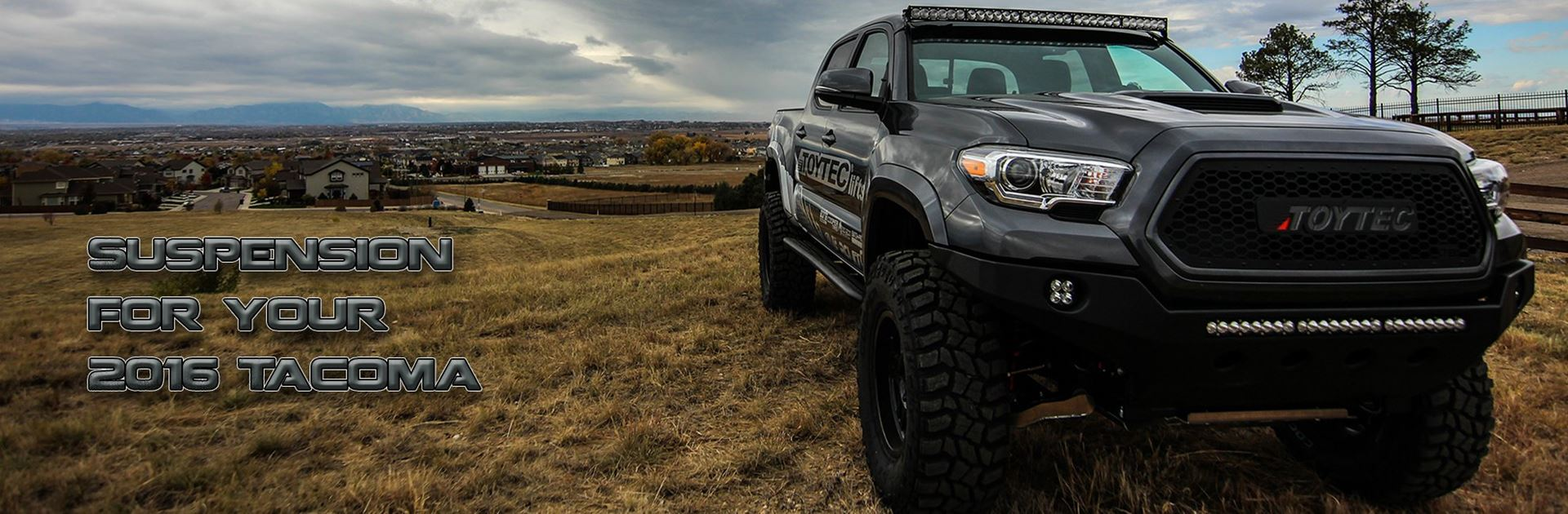 Suspension for your 2016 Tacoma